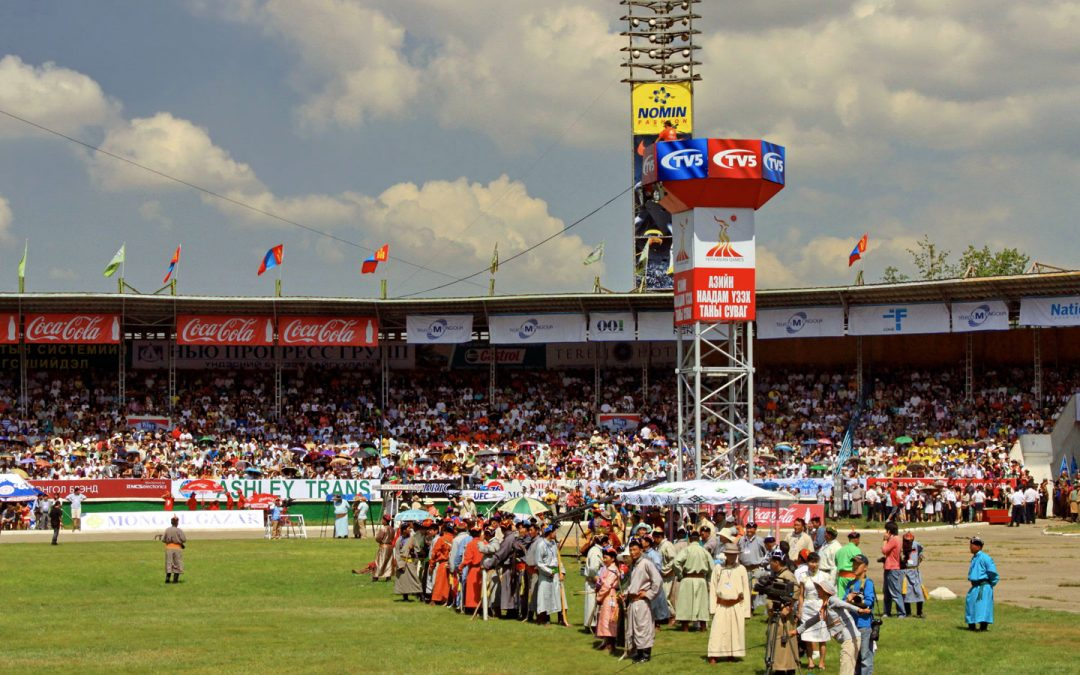 Mongolia's Nadaam Games, Washington Post