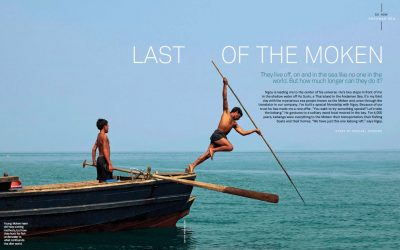 Islands magazine: Last of the Moken, June 2014