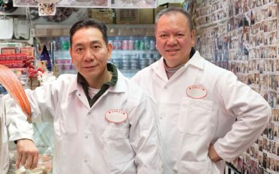 Guess who's slicing your sturgeon, NYC's ethnic food, Inspirato, Spring 2015