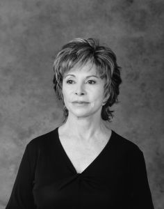 Isabel Allende, photo by Mary Ellen Mark, 2015