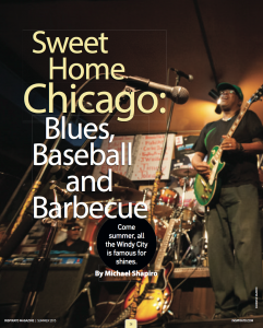 Chicago is one of the country's great cities for blues, baseball and BBQ.