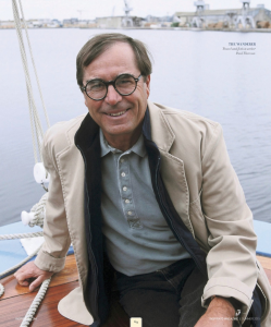 Author Paul Theroux has long felt at home when surrounded by water.