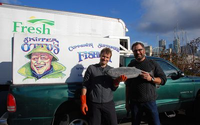 Shapiro wins 2016 Explore Canada Award of Excellence for fish story