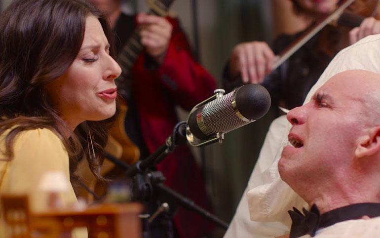 Man stricken with ALS finds new voice in singing partner; June 12, 2018