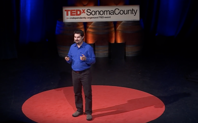 Michael Shapiro 2017 Sonoma County TEDx talk in Santa Rosa, Calif.