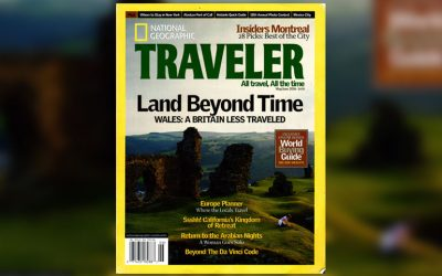 Somewhere Beyond Time: Jan Morris's Wales in National Geographic Traveler