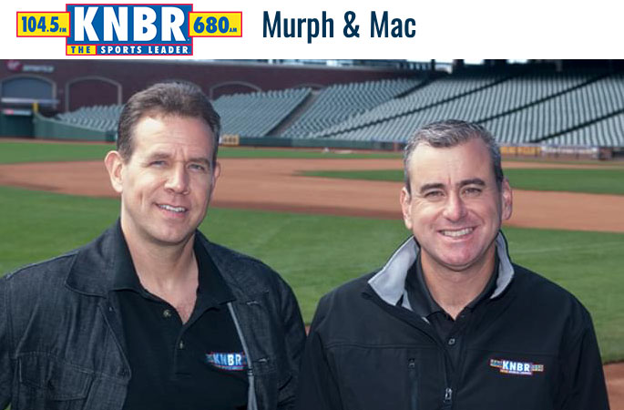 Michael Shapiro on KNBR with Murph and Mac
