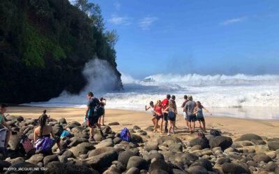 Kauai Garden Island, Jan. 2, 2020: Surviving a Rogue Wave